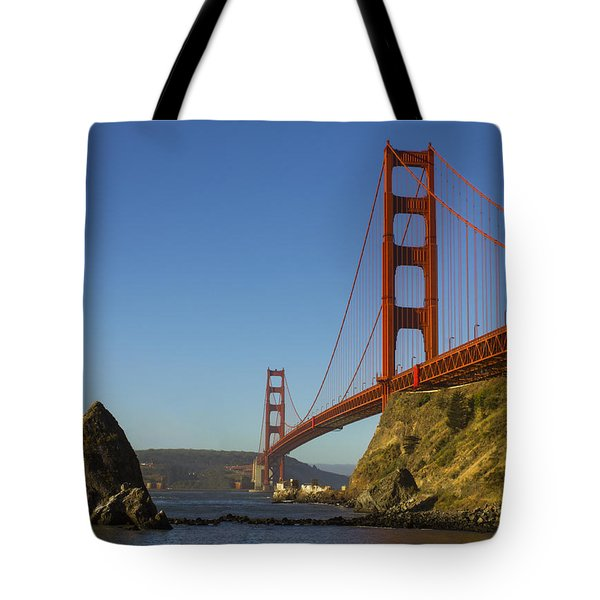 Morning At The Golden Gate Tote Bag