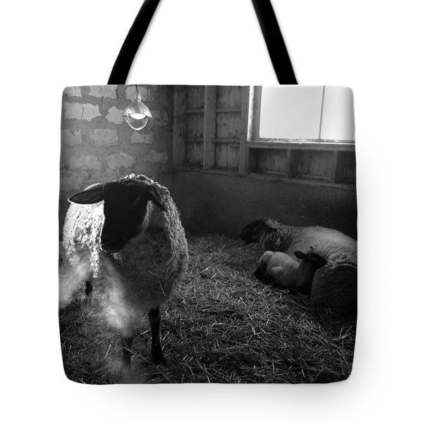 Morning Breath 1 Tote Bag