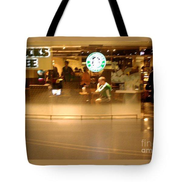 Morning Buzz Tote Bag
