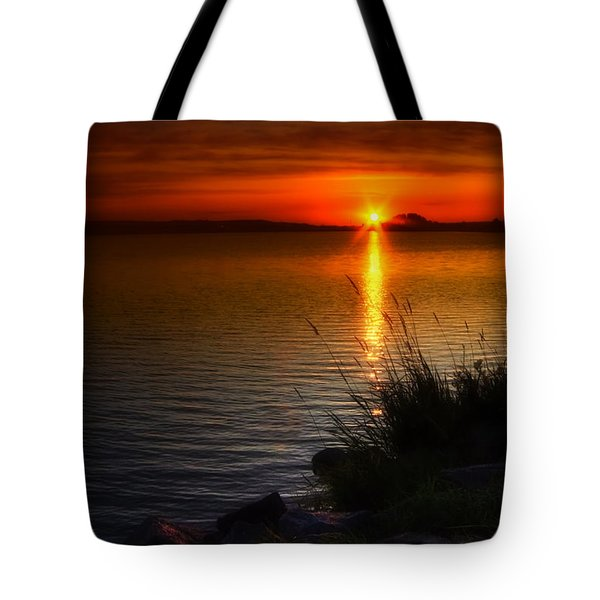 Morning By The Shore Tote Bag by Veikko Suikkanen