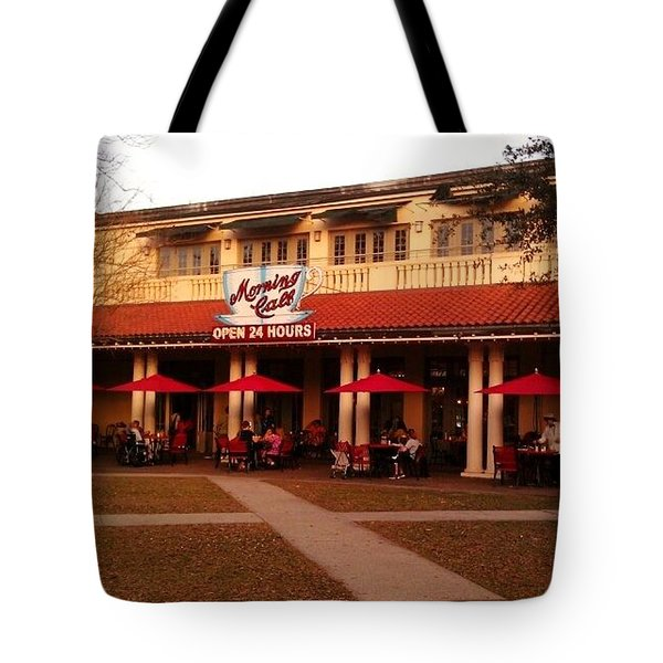 Morning Call In The Oaks - New Orleans City Park Tote Bag