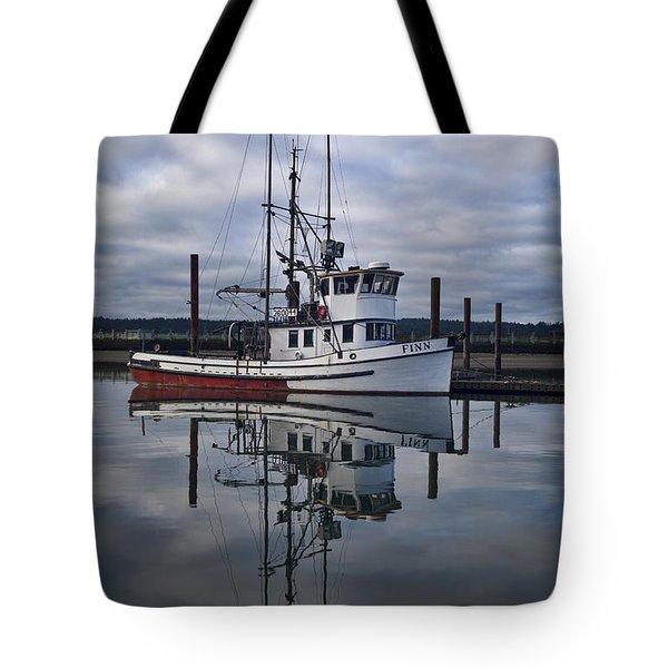 Morning Calm Newport Oregon Tote Bag