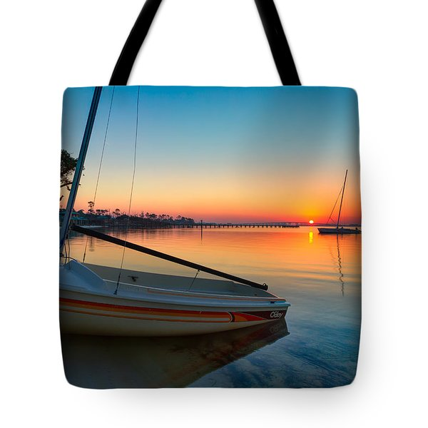 Morning Calm Tote Bag by Tim Stanley
