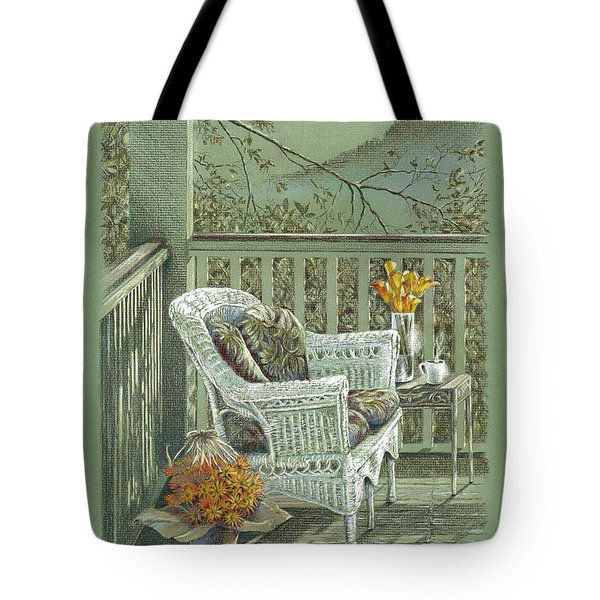 Morning Coffee At The Piedmont Inn Tote Bag