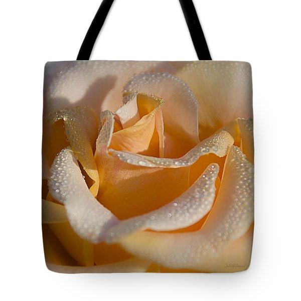 Morning Crystals Tote Bag