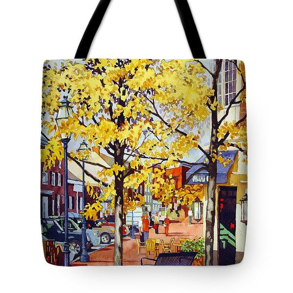 Morning Delivery Tote Bag