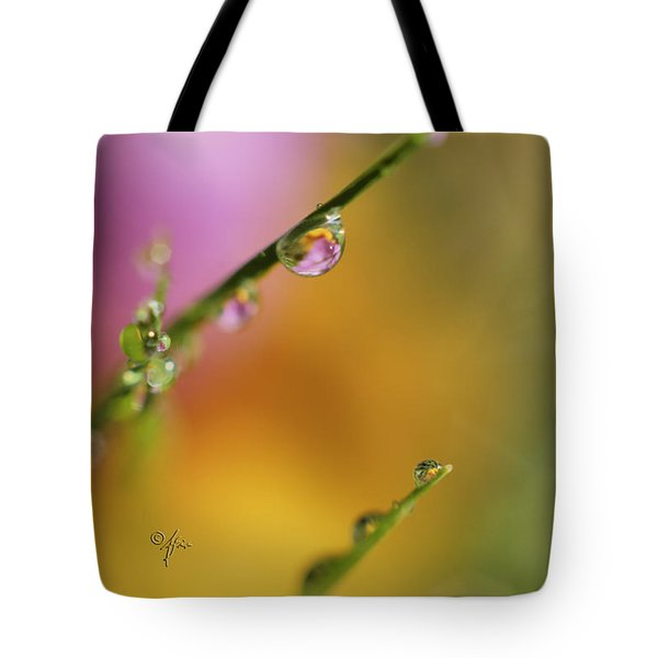 Morning Dew Tote Bag by Arthur Fix