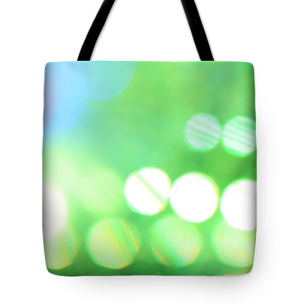 Morning Dew Tote Bag by Dazzle Zazz