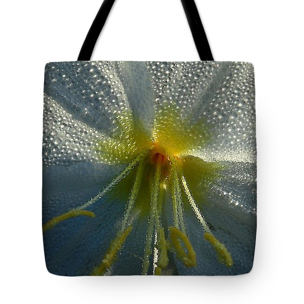 Morning Dew Tote Bag by Steven Reed