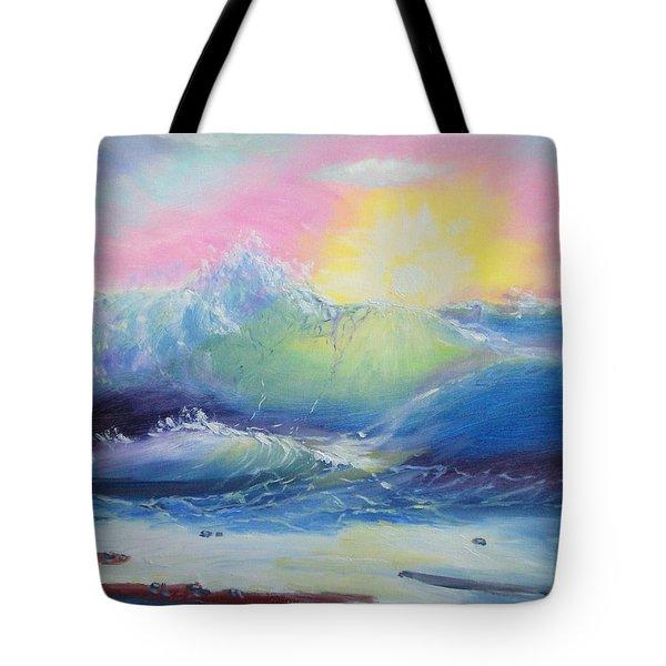 Morning Tote Bag by Elena Sokolova