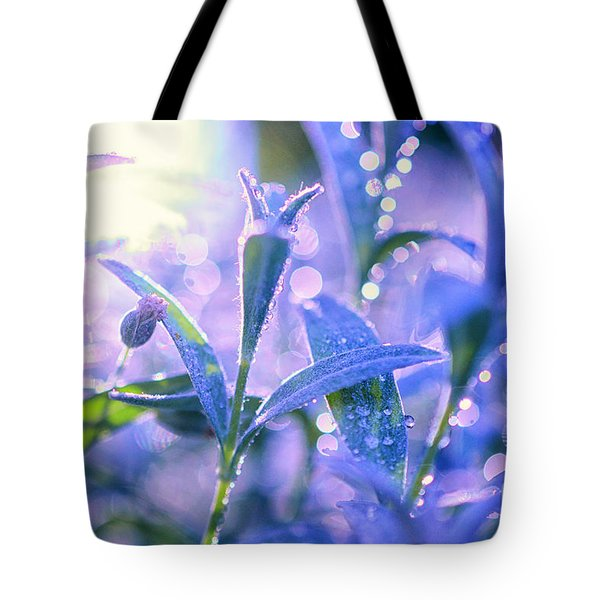 Morning Field Tote Bag by Sabine Jacobs