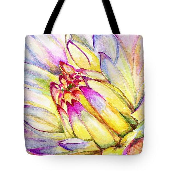 Morning Flower Tote Bag