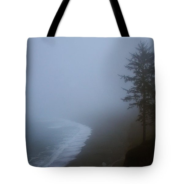 Morning Fog At Agate Beach Tote Bag by Robert Woodward