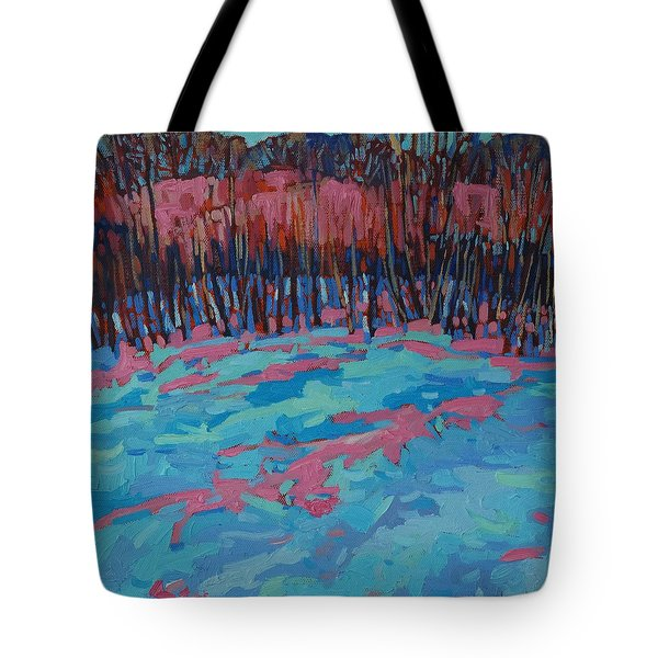 Morning Forest Tote Bag by Phil Chadwick