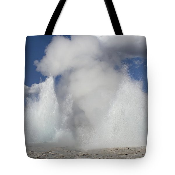 Morning-fountain Dual Eruption Tote Bag