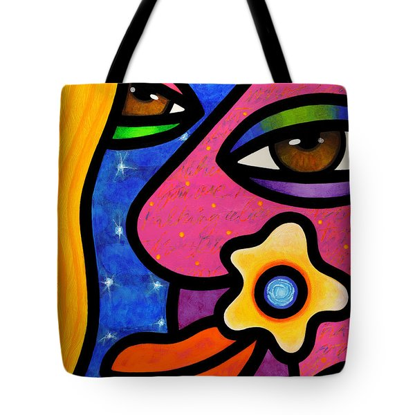 Morning Gloria Tote Bag