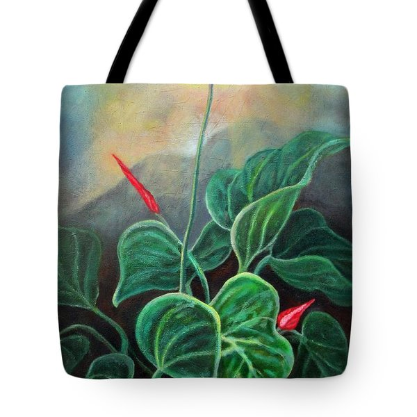 Morning Glory 1 Tote Bag