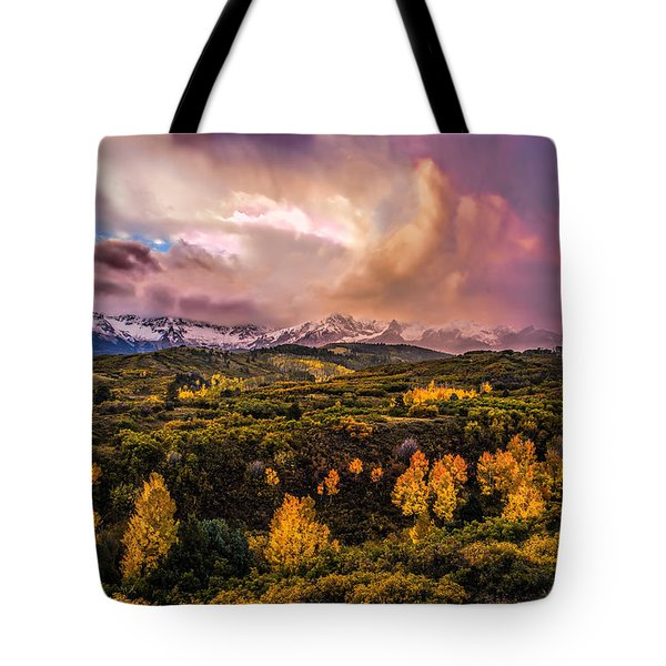 Tote Bag featuring the photograph Morning Glory by Ken Smith
