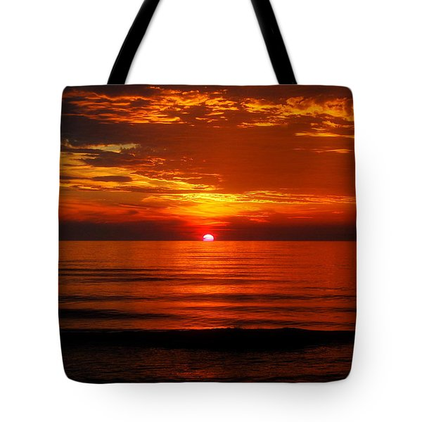 Morning Glory Tote Bag by Mim White