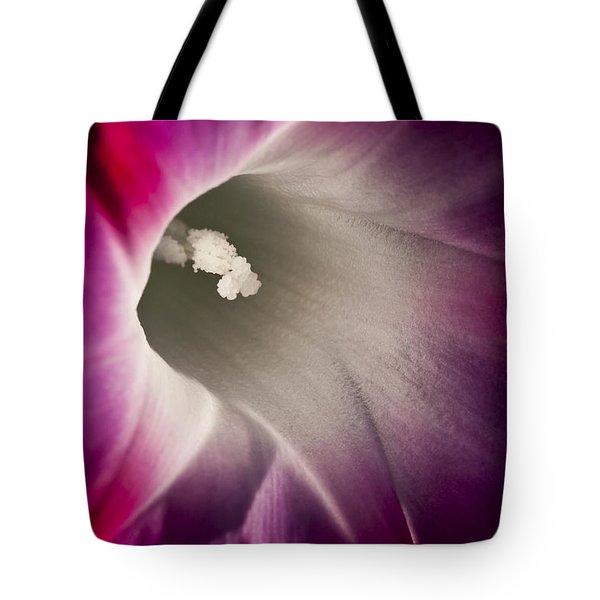 Morning Glory Pink Tote Bag