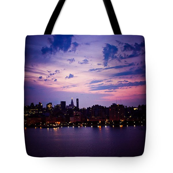 Tote Bag featuring the photograph Morning Glory by Sara Frank