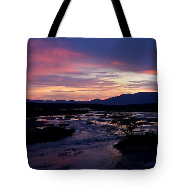 Tote Bag featuring the photograph Morning Glow by Tammy Espino