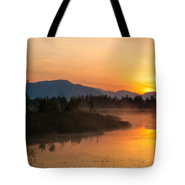 Tote Bag featuring the photograph Morning Has Broken by Jack Bell