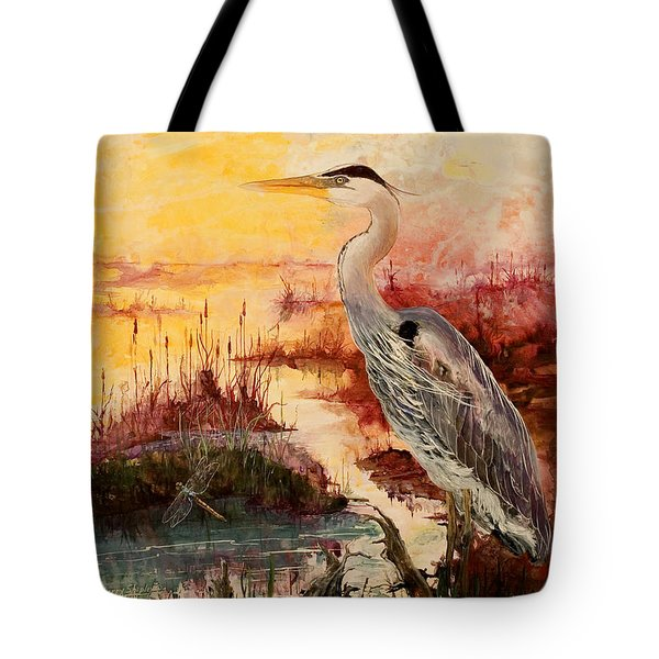 Morning Has Broken Tote Bag by Sherry Shipley