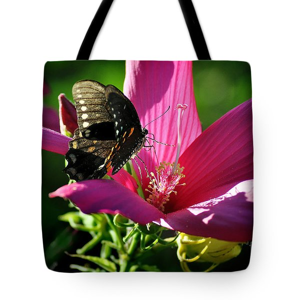 Tote Bag featuring the photograph In The Morning by Nava Thompson