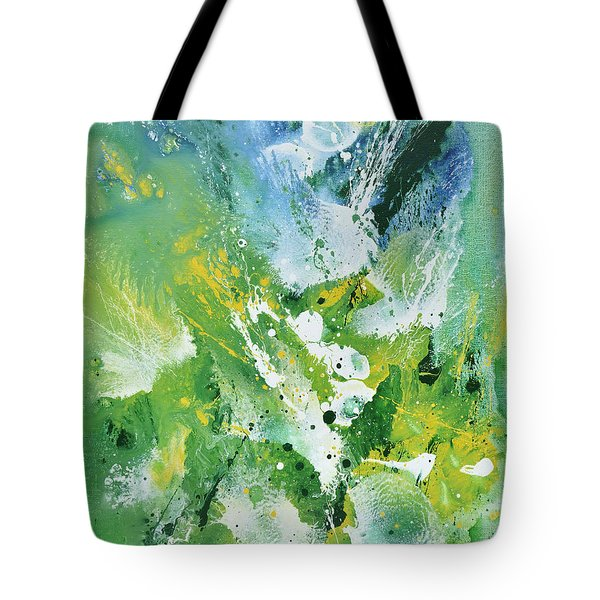 Morning Hillside Tote Bag