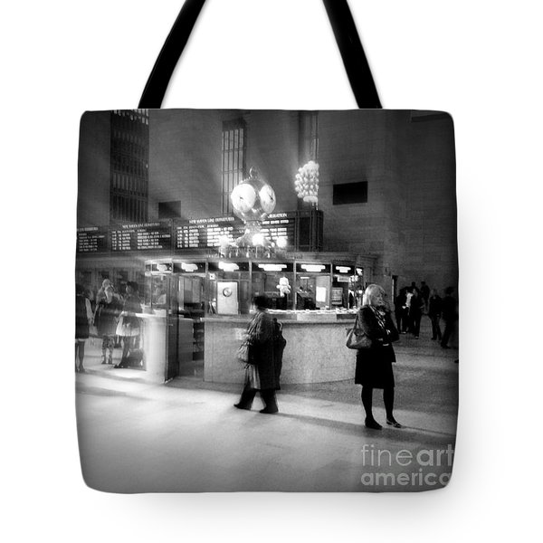 Morning In Grand Central Tote Bag by Miriam Danar