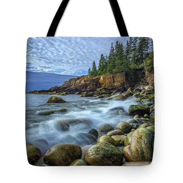 Morning In Monument Cove Tote Bag