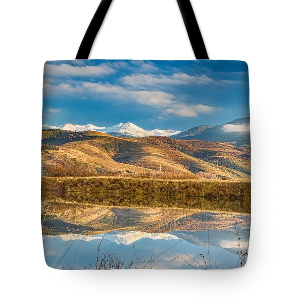 Morning In Pirin Mountain Tote Bag