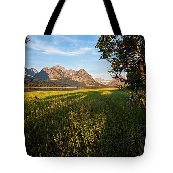 Tote Bag featuring the photograph Morning In The Mountains by Jack Bell