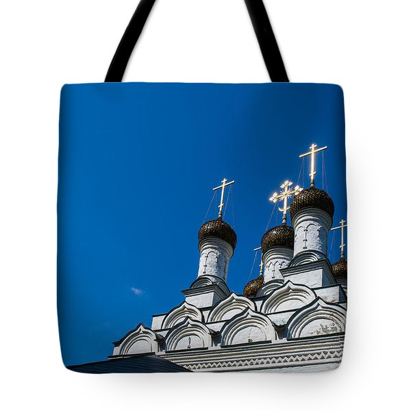 Morning In The Old City - Feature 3 Tote Bag by Alexander Senin