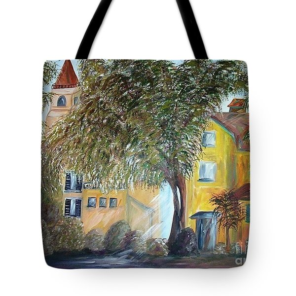 Morning In The Old Country Tote Bag by Eloise Schneider