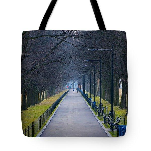 Morning In Washington D.c. Tote Bag