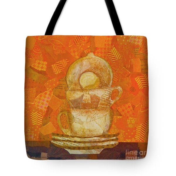 Morning Joe Tote Bag by Desiree Paquette