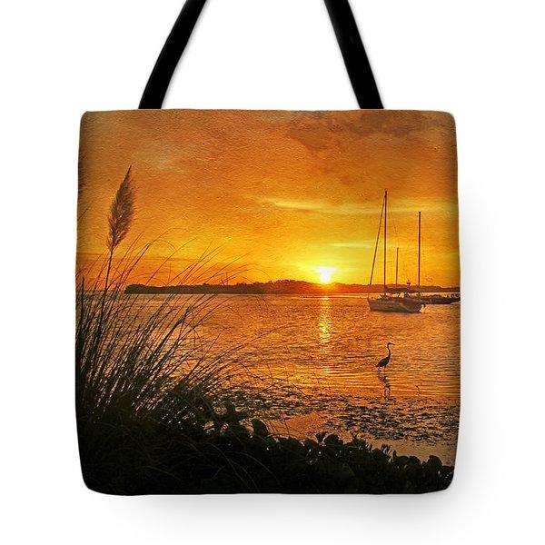 Morning Light - Florida Sunrise Tote Bag