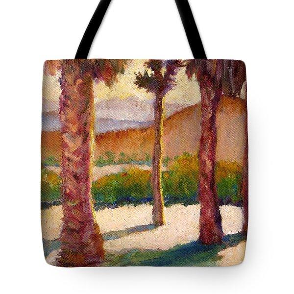 Morning Light On Joshua Tree Tote Bag