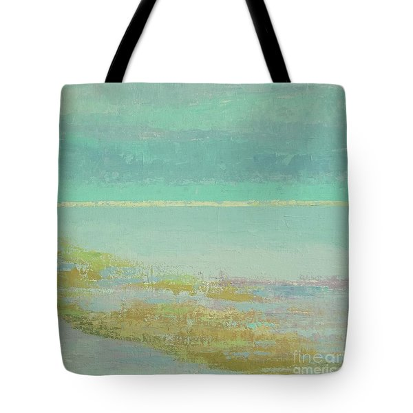 Morning Low Tide Tote Bag