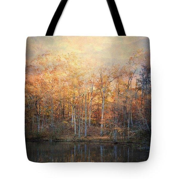Morning Meditation Tote Bag by Jai Johnson