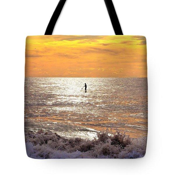 Sunrise Solitude Tote Bag