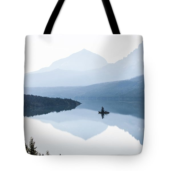 Tote Bag featuring the photograph Morning Mist by Aaron Aldrich