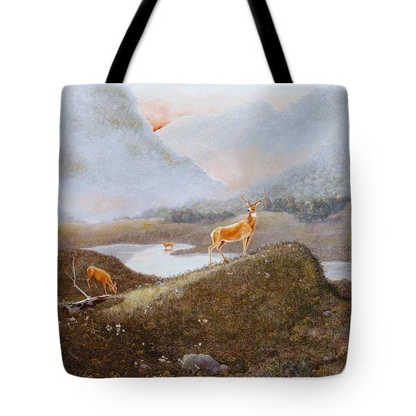 Morning Mist Tote Bag by Duane R Probus