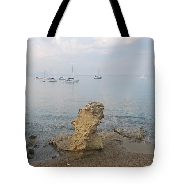 Tote Bag featuring the photograph Morning Mist 2 by George Katechis