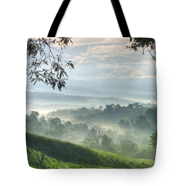 Morning Mist Tote Bag by Heiko Koehrer-Wagner