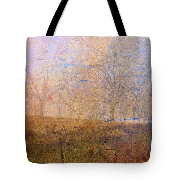 Morning Mist Tote Bag by Jan Amiss Photography