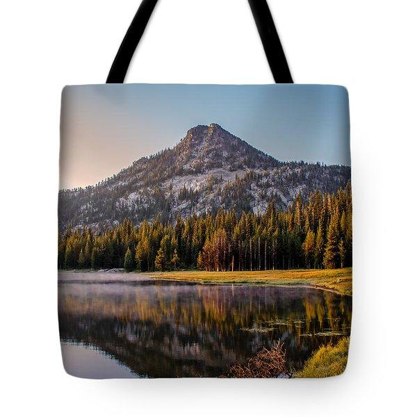 Morning Mist Tote Bag by Robert Bales