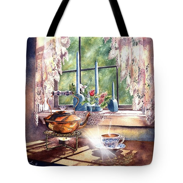 Morning Moment Tote Bag